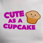 Cute cupcake muffin food t-shirt