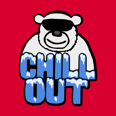 Chill Out Polar Bear